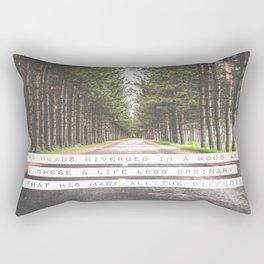 A Life Less Ordinary Rectangular Pillow