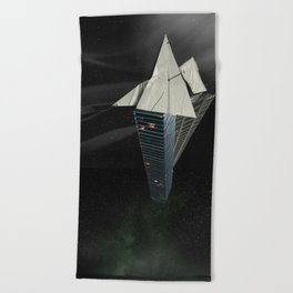 Ark of the Anthropocene Beach Towel