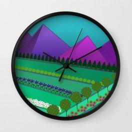 Fields of Dreams Wall Clock