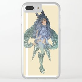 Space Suit Clear iPhone Case