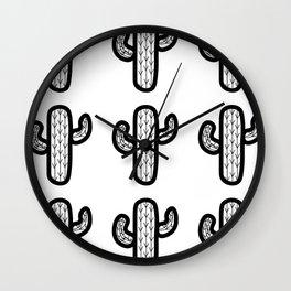 Wacky Cacti Wall Clock
