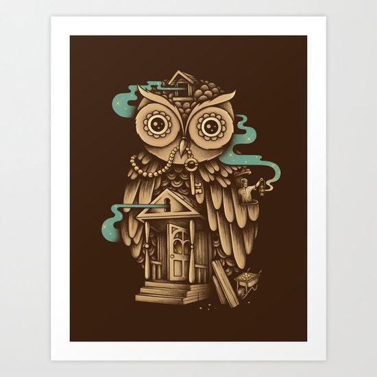 Night Watch Art Print