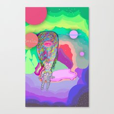 Soul Sailor no.3: Sailing the Universe Canvas Print