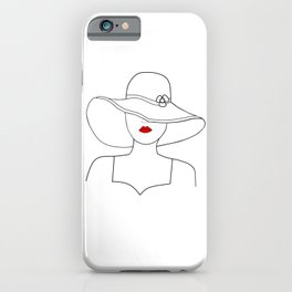 Red Lipstck iPhone Case