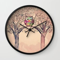 owl-245 Wall Clock