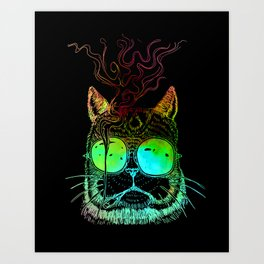 Thomas O'malley the Alley Cat Art Print