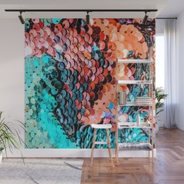 Sequin Wall Mural