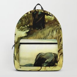 The Two Crows Backpack