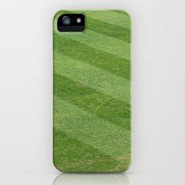 Play Ball! - Freshly Cut Grass iPhone Case