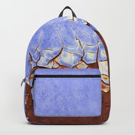 Rust and Blue Backpack