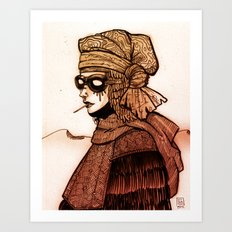 Madge Art Print