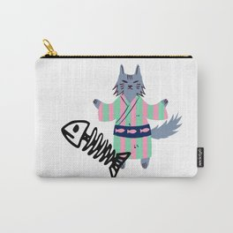 Cat ninja binge fish eater Carry-All Pouch
