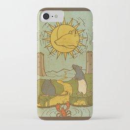 Muroidea Rat Tarot- The Moon iPhone Case