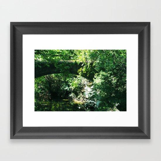 The Bridge To Somewhere Framed Art Print