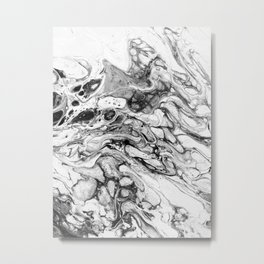 Negative Space Metal Print