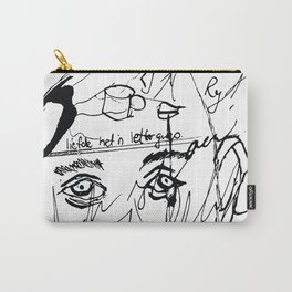 Face the lines Carry-All Pouch