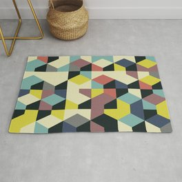 Abstract Geometric Artwork 52 Rug