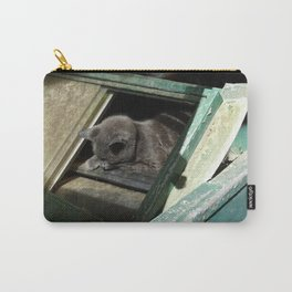 Postapocalypse Kitty Slumbers Carry-All Pouch
