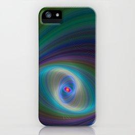 Elliptical Eye iPhone Case
