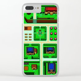 link game boy Clear iPhone Case
