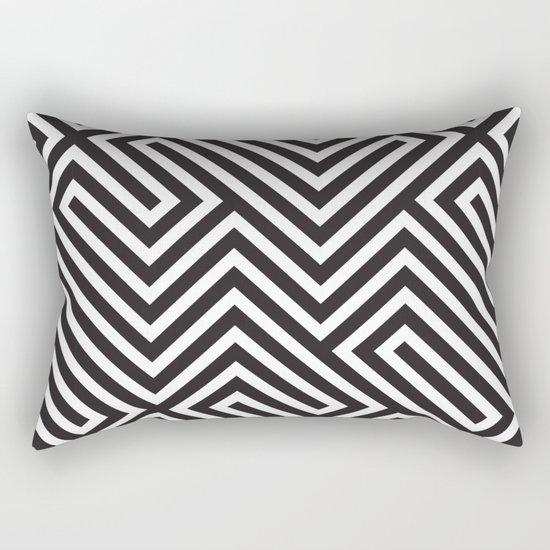 Lines Rectangular Pillow