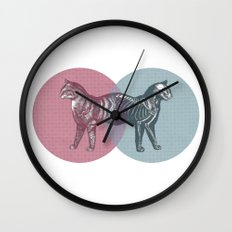 In which the cat is dead and alive Wall Clock
