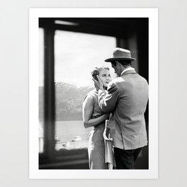 Collage À bout de souffle - Jean Luc Godard (1960) Art Print