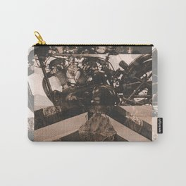 king of the road sepia Carry-All Pouch