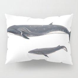 Sei whale (Balaenoptera borealis) Pillow Sham