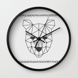 Totem Festival 2015 - Black & White Wall Clock