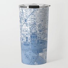 Washington DC Map Travel Mug