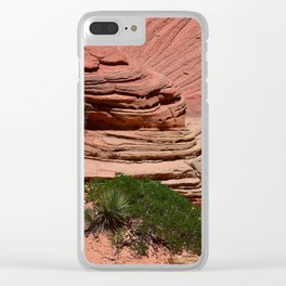 Zion - II Clear iPhone Case