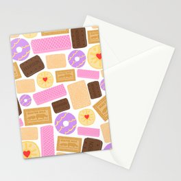 Biscuit (White Background) Stationery Cards