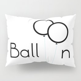 Balloon Pillow Sham
