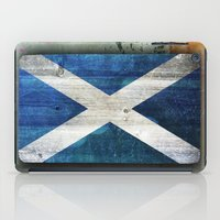 scotland iPad Cases featuring Scotland by Arken25