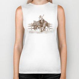 Dino Rodeo  Biker Tank