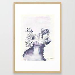 Bridge גשר Ponte Мост Framed Art Print