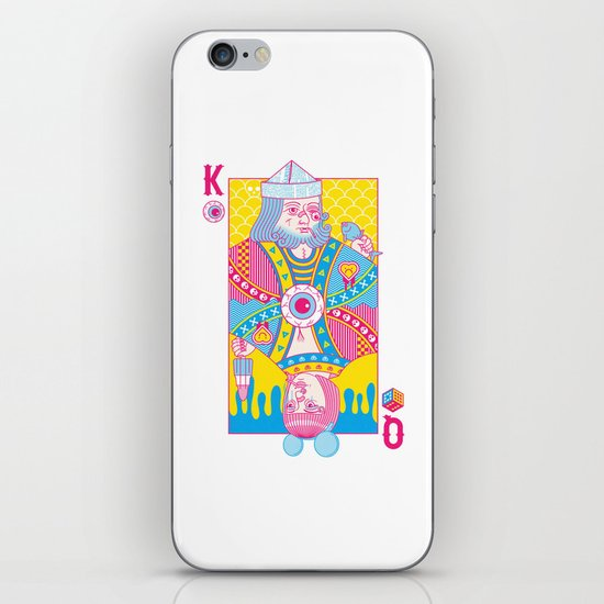King Of Nothing, Queen Of Nowhere iPhone & iPod Skin