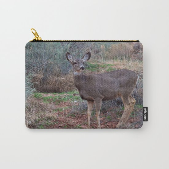 Zion Deer Carry-All Pouch