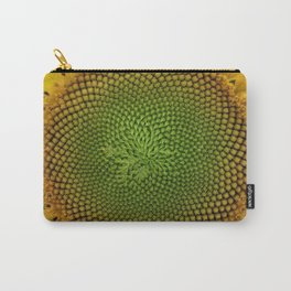 All right, Mr. DeMille, I'm ready for my close-up - Sunflower photography by Jéanpaul Ferro Carry-All Pouch