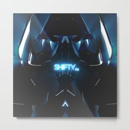 Shifty FX Layer Metal Print