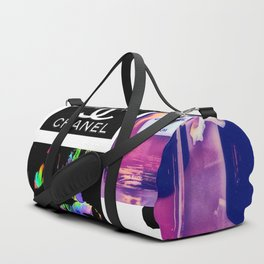 CC No.5 Fashion Collage Duffle Bag