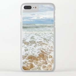 Consuming Waves Clear iPhone Case