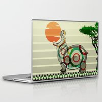 dreamer Laptop & iPad Skins featuring Dreamer by milanova