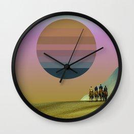 tycho sun Wall Clock
