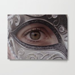 Aye Eye Metal Print
