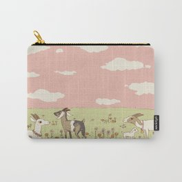 goat field Carry-All Pouch