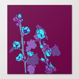 Globe Mallow Flowers Canvas Print
