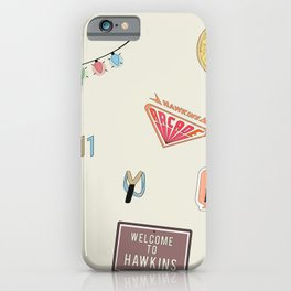 Welcome to Hawkins 2 iPhone Case