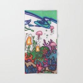 sea garden Hand & Bath Towel
